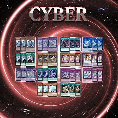 CYBER DRAGON DECK CORE | 42 Cards | CYHO AND LD3 YuGiOh HERZ REVSYSTEM CYBERLOAD