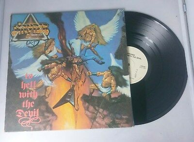 Stryper To Hell With The Devil Korea Vinyl Lp Record