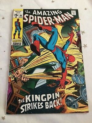 Amazing Spider-Man Issue 84 May 1970