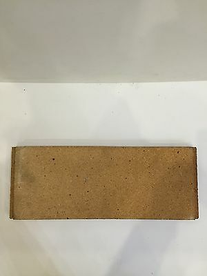 Tiger Stove Genuine Rear Back Rear Brick (Not  Vermiculite Copy)