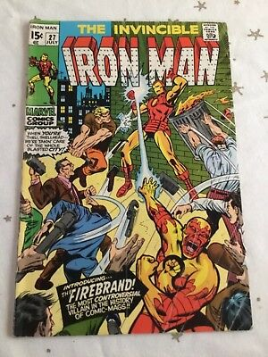 The Invincible Iron Man  #27. July 1970
