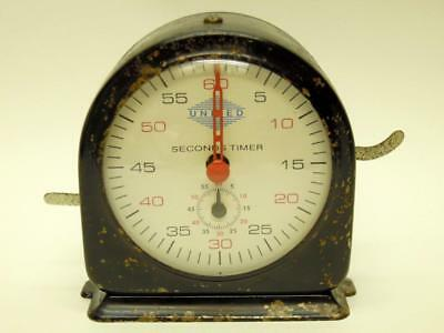 Vintage United Stopclock Timer Seconds Counter