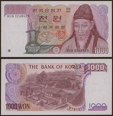 Korea Banknote Uncirculated