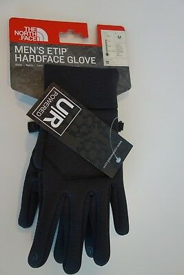 $50 NWT The North Face Hardface Etip Gloves Black Heather Sz S M L