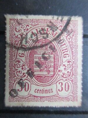 Lot [24] LUXEMBOURG - SERVICE STAMP - 1878-1879 - YT#21 - used