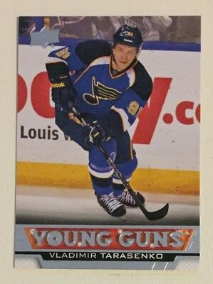 2013/14 Upper Deck Young Guns Vladimir Tarasenko Rookie RC