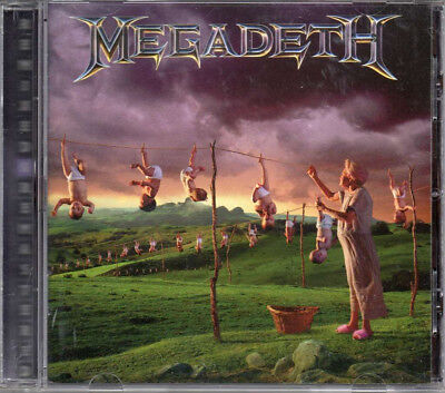 CD Megadeth ‎– Youthanasia (Remastered) - Album Nuevo y Precintado