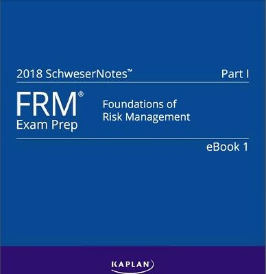 2018 FRM Schweser Notes (part 1 and part2)