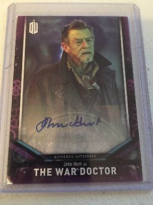 2018 Topps Doctor Who Signature Series John Hurt The War Doctor Autograph