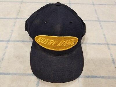 Vintage Notre Dame Fighting Irish American Needle Snapback Hat 90's Throwback