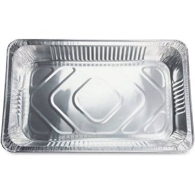 Genuine Joe Full-size Disposable Aluminum Pan, 50 Pans (GJO10703)