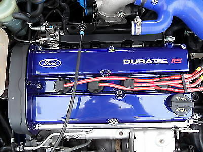Ford Focus RS Mk1 Duratec RS Rocker Cover Engine Decal Sticker Set