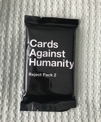 Cards Against Humanity REJECT PACK 2!
