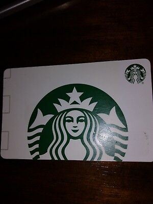 Starbucks gift card, current value $25.81