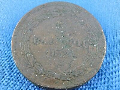 Papal States Vatican 5 Baiocchi 1852 B    (Z/513)