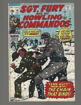Sgt Fury And His Howling Commandos #90 The Chain That Binds