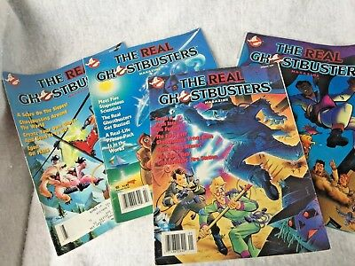 The Real Ghostbusters NOW Comics Lot of 4  1990  complete season
