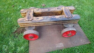 Stationary Engines Water Pump Trolley