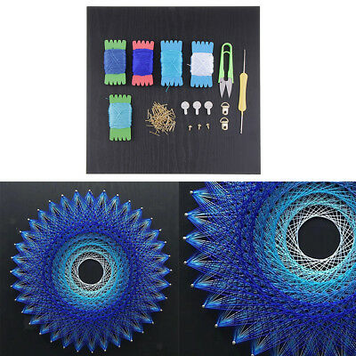 Blue Bird's Nest String Art Kits DIY Material Package for Kids Adults Gifts