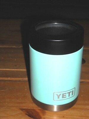 Yeti Colster light turquoise color Insulated beer can holder Pop Can COLD beer