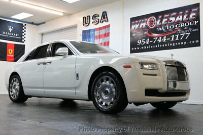 2014 Rolls-Royce Ghost 4dr Sedan CARFAX CERTIFIED . FULLY LOADED. MINT CONDITION. VIEW IMAGES. CALL 954-744-1177