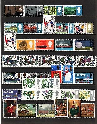 Gb Pre-Decimal Commemorative Sets Selection Unmounted Mint