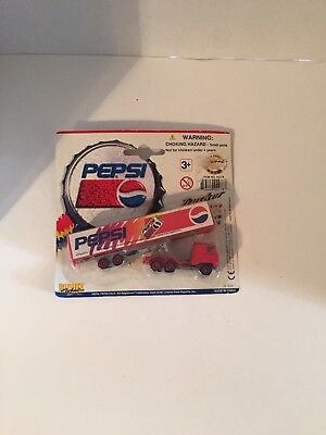 Golden Wheel Diecast Pepsi Tractor Trailer Vehicle Sealed 1996