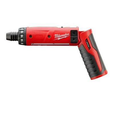 "Milwaukee 2101-20 M4 4V 1/4"" Cordless Lithium-Ion Hex Screwdriver - Bare Tool"