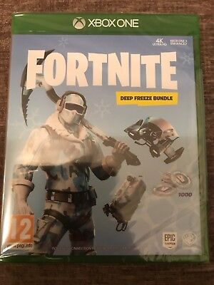 Fortnite Deep Freeze Bundle Xbox One Xbox One | BRAND NEW & SEALED
