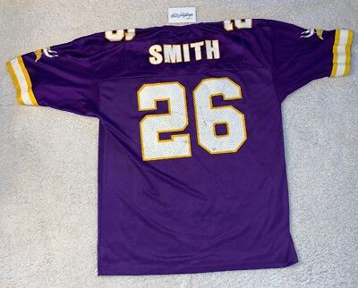 2df983d56 Vintage Minnesota Vikings Robert Smith  26 44 Throwback NFL Jersey Champion  90 s
