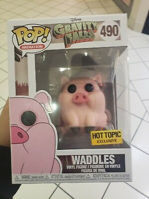 Funko Pop Animation #490 Waddles Disney Gravity Falls Hot Topic Exclusive