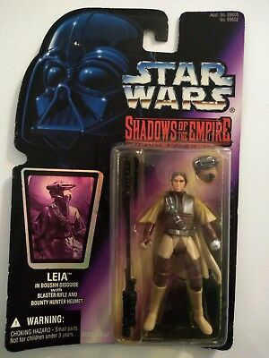 Star Wars Shadows Of The Empire: Leia Action Figure 1996 - Nib