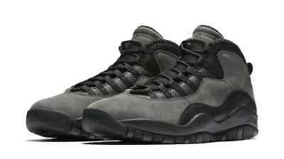 promo code ddebf 5fbd3 Nike Air Jordan 10 Retro BG Youth Boy s Basketball Shoes Dark Shadow 310806 -002