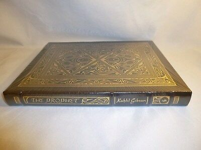 The Prophet Kahill Gibran Easton Press Collector's Edition 2003 New Sealed