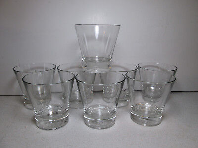 """Crown Royal Limited Edition Rocks Glasses Embossed Bottom Logo """"ITALY"""""""