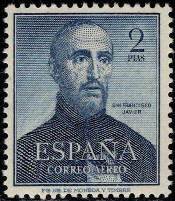 1952.MNH.Ed: ** 1118.San Francisco Javier.2 pts azul.P.Cat:60€