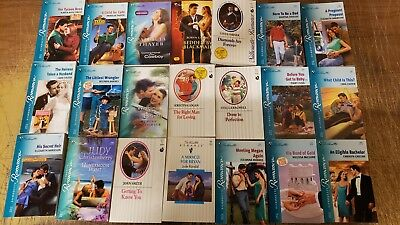 Lot of 120 Silhouette Romance Desire Suspense Special Intimate Book MIX UNSORTED