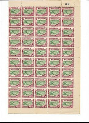 MOZAMBIQUE COMPANY Scott 186 MINT MNH OG Full Sheet of 100 Stamps CV $40 USD