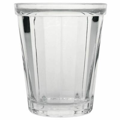 Olympia Cabot Panelled Tumbler in Clear Made of Glass 260ml / 9oz