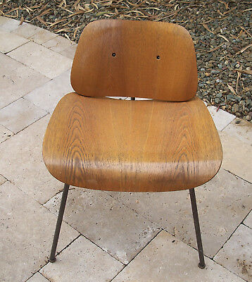 Magnificent Vintage Herman Miller Molded Plywood Dining Chair Selling As Pabps2019 Chair Design Images Pabps2019Com