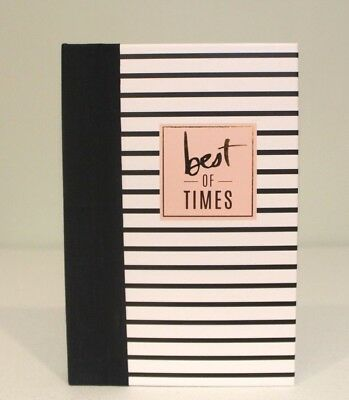 """JOURNAL PHOTO ALBUM New """"Best of Times"""" Travel Title Stickers Scrap Book"""