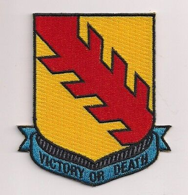 Victory or Death patch.3.5 inch. Elvis. Axl Rose. Patton 32nd Armored Regim NEW