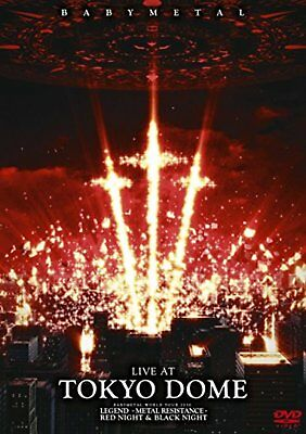 BABYMETAL LIVE AT TOKYO DOME (Normal Edition) [DVD] F/S w/Tracking# Japan New