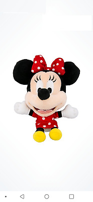 Disney Parks Minnie Mouse Plush Magnet New With Tag Walt Disney World