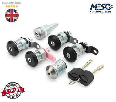 BRAND NEW COMPLETE LOCK SET WITH TWO KEYS FORD TRANSIT MK5 1994-2000