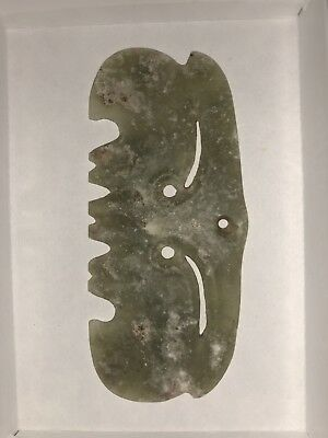 Ancient Chinese Hongshan Culture Old Jade Pendant