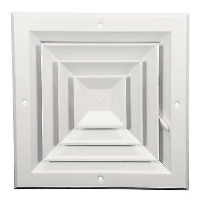 """Hart & Cooley A504MSW0808 - 8"""" x 8"""" Square Ceiling or Sidewall Diffuser/Vent"""
