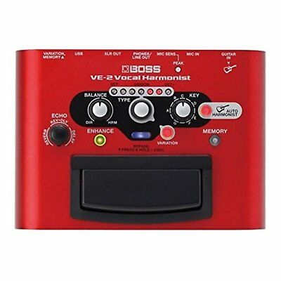 BOSS Vocal Harmonist VE-2 Free Shipping with Tracking number New from Japan