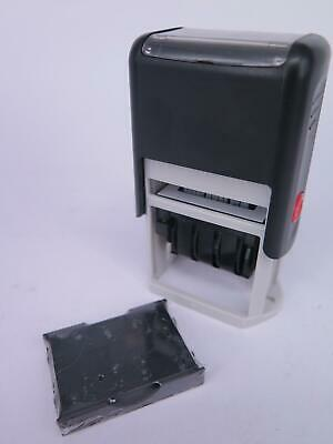 Deskmate Red Ink Self Inking Dater Stamp 0316060 CLEARANCE PRICED