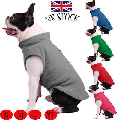 Large Big Pet Dog Clothes Winter Hoodie Sweater Coat Costume Apparel S-XL New